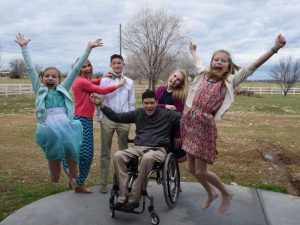 meridian family touched by paralysis