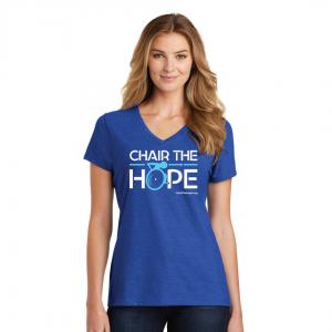 Chair The Hope T-Shirt (Womens)