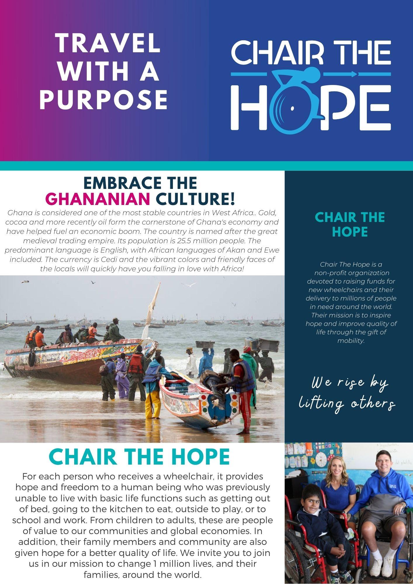 Chair The Hope Ghana