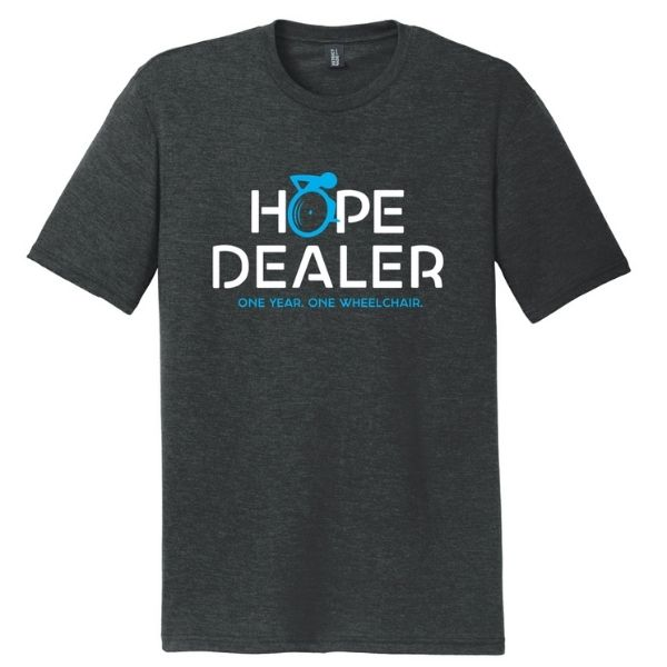 Chair the Hope Hope Dealer T Shirt